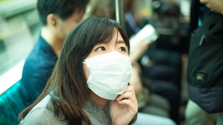 Why do people in Japan wear masks