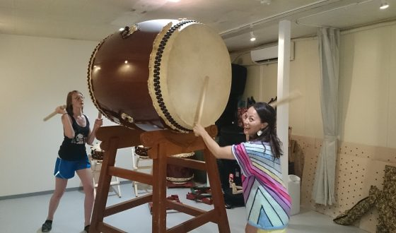 Learn to play Taiko