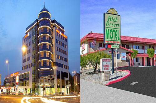Difference between hotel vs motel