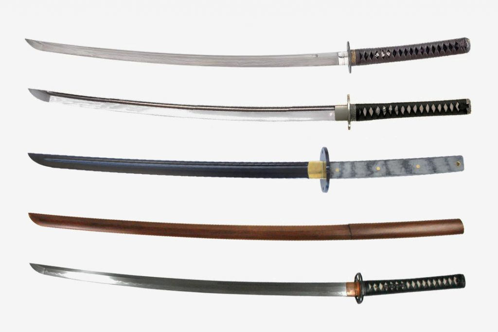 types of japanese swords