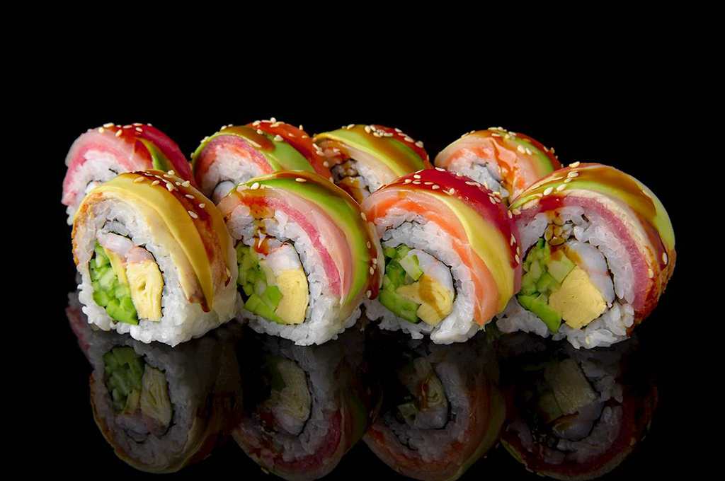 list of sushi roll