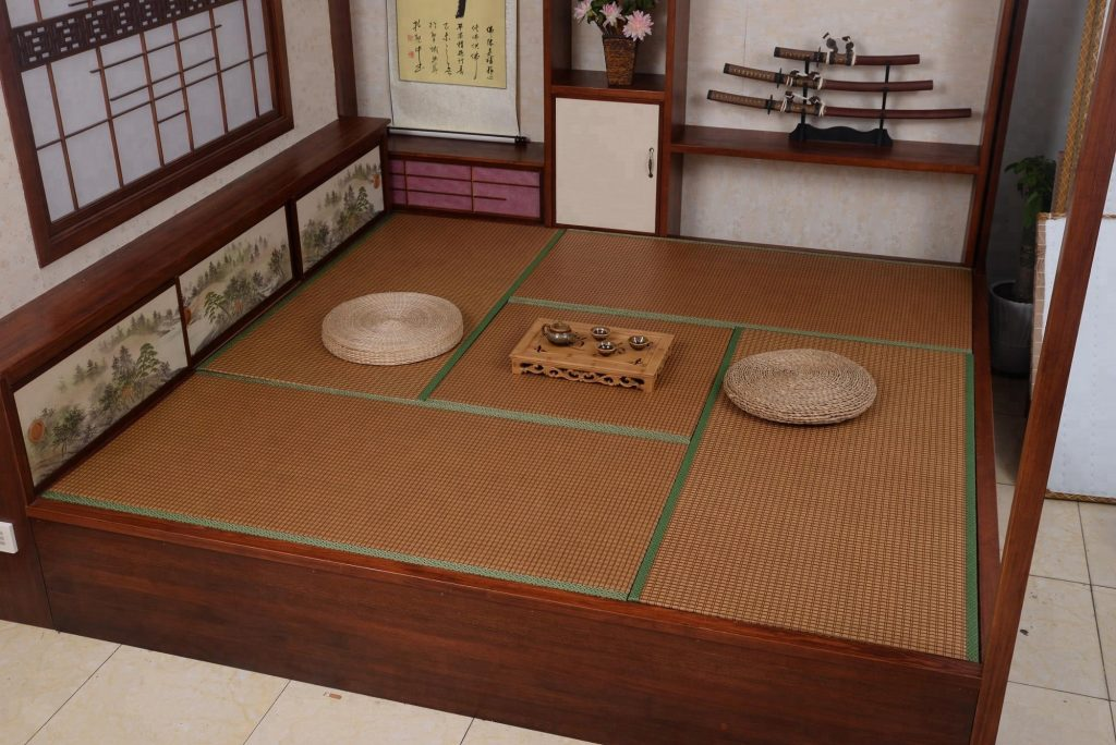 how to clean tatami mats