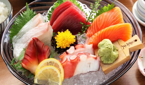 types of sashimi