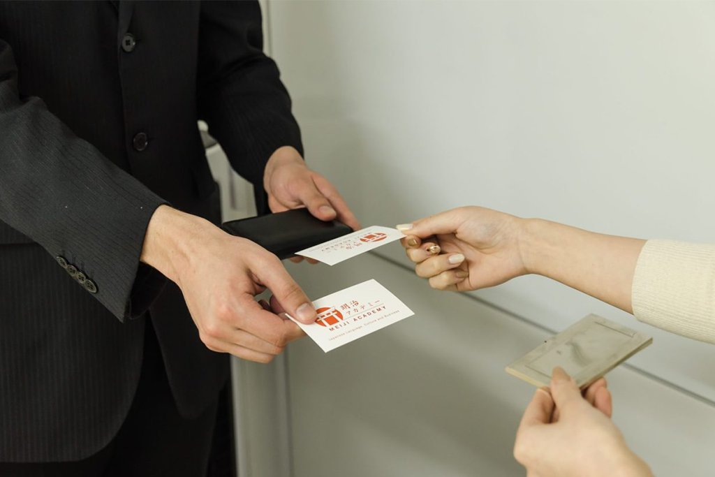 japanese business card exchange