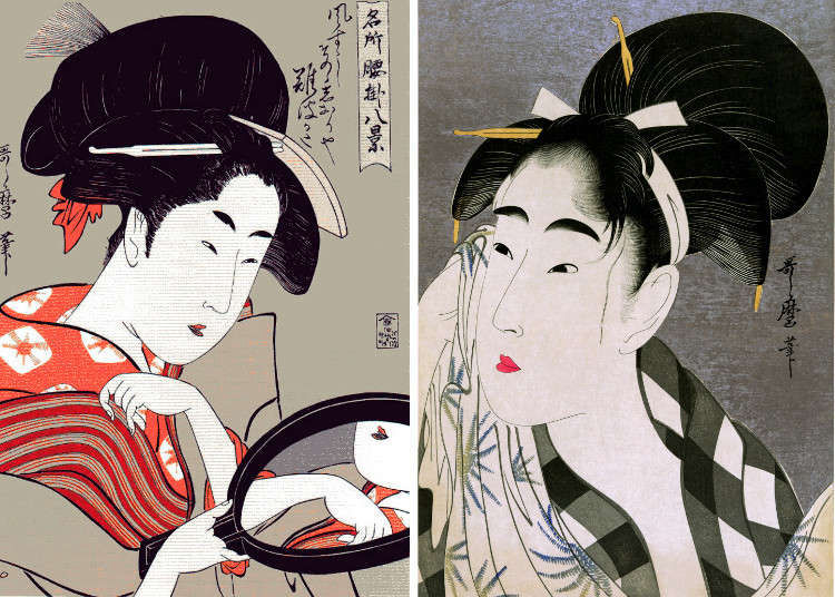 Japanese beauty standards in the past