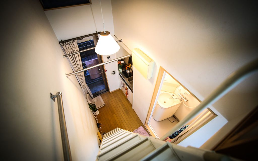small Japanese apartment